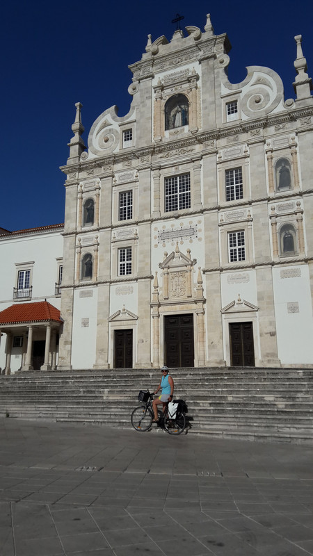 20170730 090927 Santarém Igreja do Seminario - Santarem Cathedra