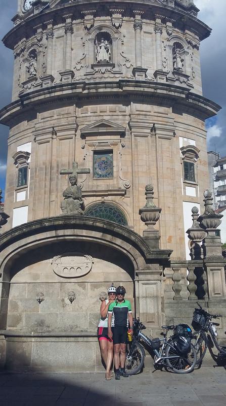 20170808 183820 Pontevedra La Peregrina (zarándok) templom