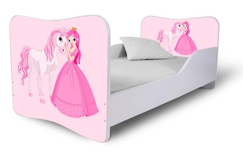 BabyNoby hercegnő pink gyerekágy