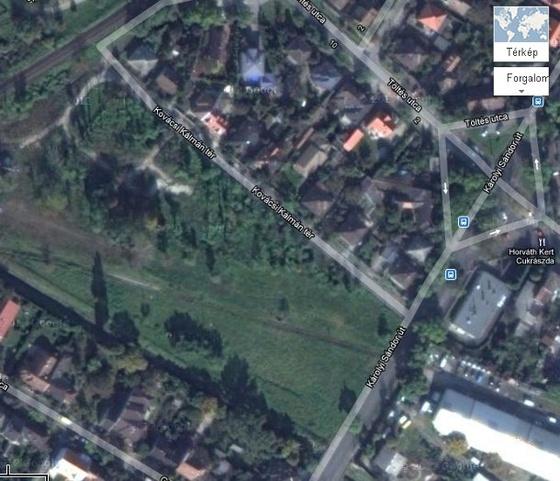 Google térképrészlet Rákospalotáról