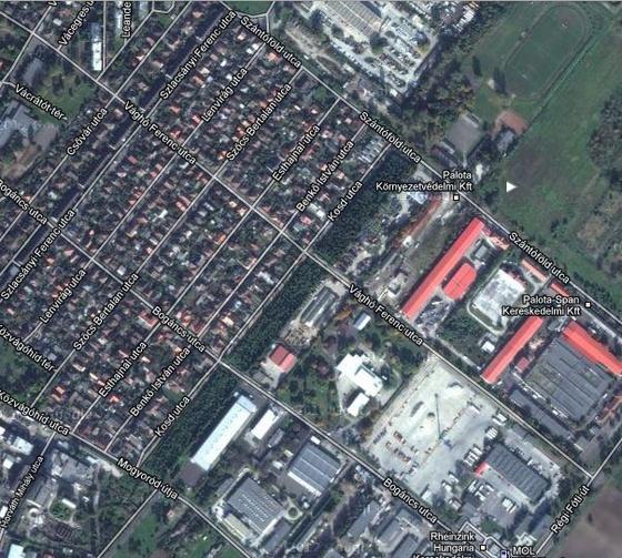 Kosd utca Google térkép