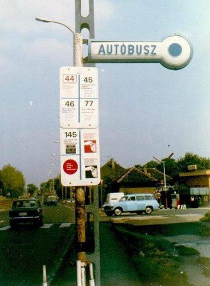 77-es busz megállója