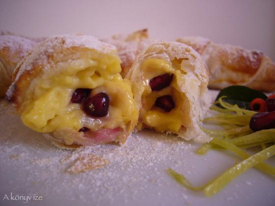 croissant crema pastecceria