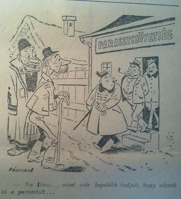 1946 12 24 Karikatúra 002 Szabad Föld