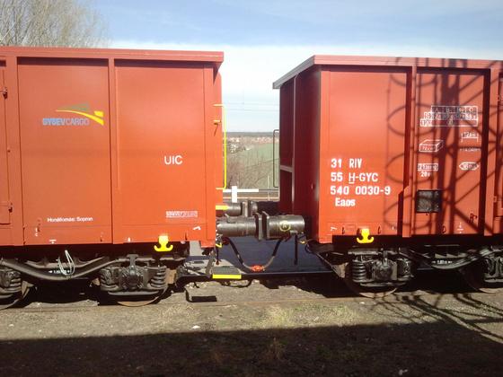 50 új Eaos kocsival bővíti járműparkját a GYSEV Cargo.</br>Fotó: GYSEV Cargo
