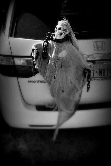 Árva Gabriella: halloween auton