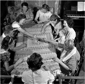 300 quilting bee