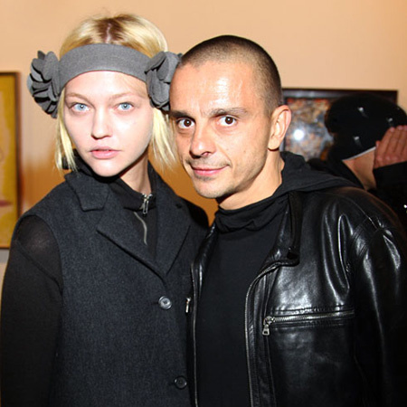 Sasha Pivovarova with cool, Husband Igor Vishnyakov