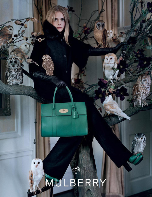 The Strange: Cara-Delevingne-Mulberry-Fall-Winter-2013