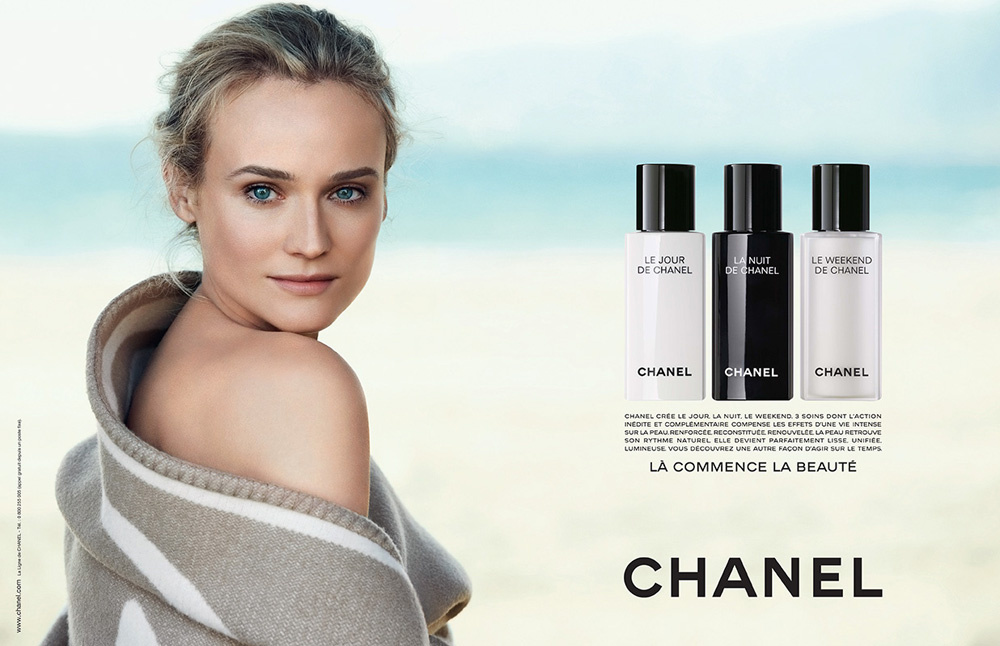 The Strange: chanel-beauty-diane-kruger