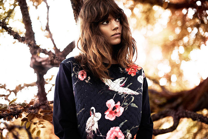 The Strange: Freja-Beha-Erichsen-Reserved-Fall-Winter-2013-14 - indafoto.hu