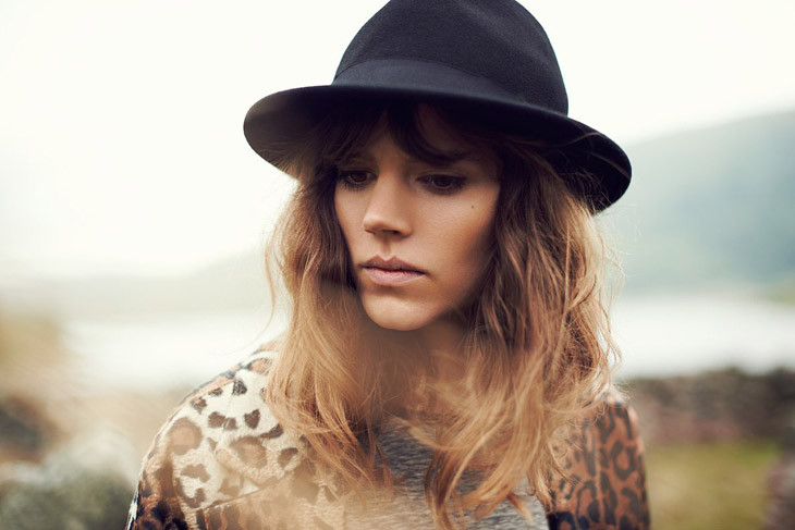 The Strange: Freja-Beha-Erichsen-Reserved-Fall-Winter-2013-17 - indafoto.hu