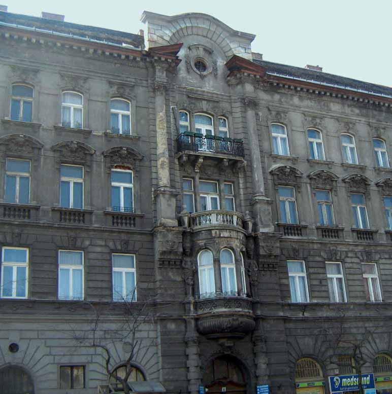 Üllői uti épületek