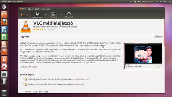 robinn25: Ubuntu Szoftverközpont -Alkalmazás telepités.png