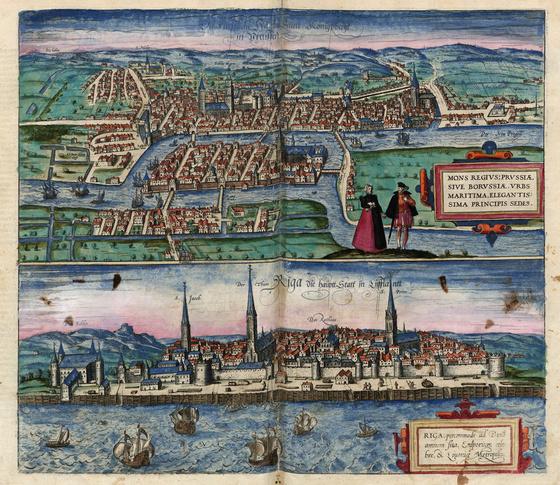 Országos Széchényi Könyvtár: Riga a XVI–XVII. század fordulóján