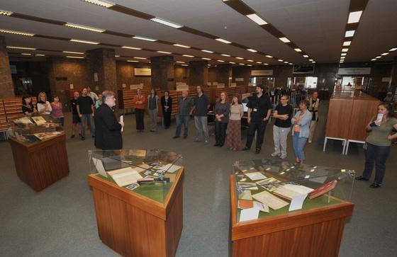 Országos Széchényi Könyvtár: Rákóczi kamarakiállítás