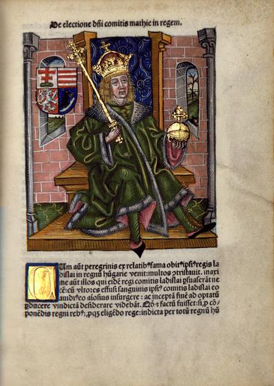 Országos Széchényi Könyvtár: Thuróczy krónika