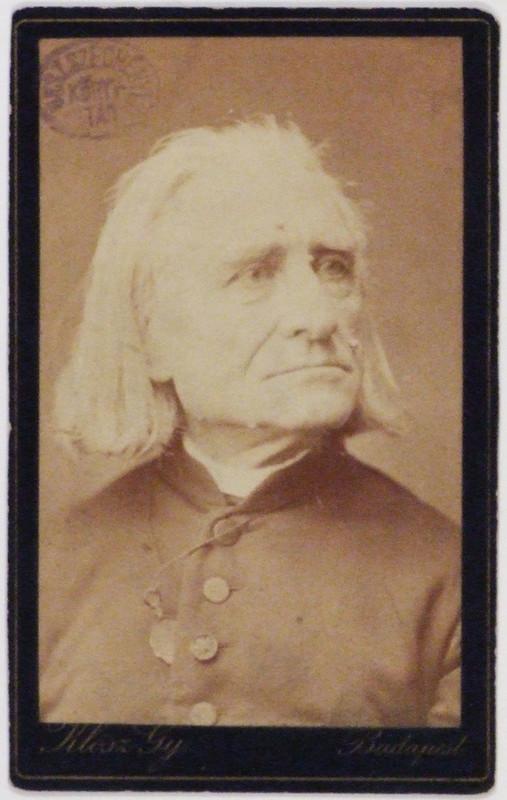 Liszt-portré