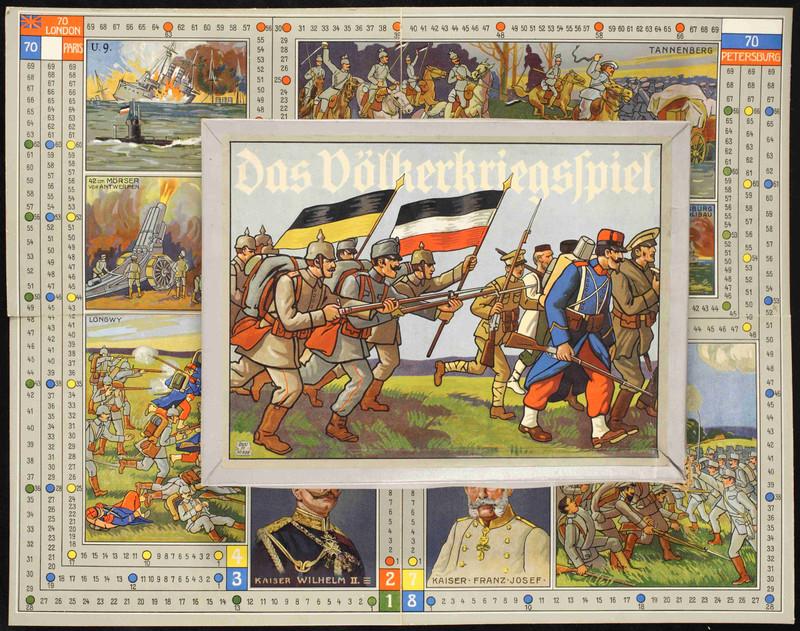 Német háborús társasjáték