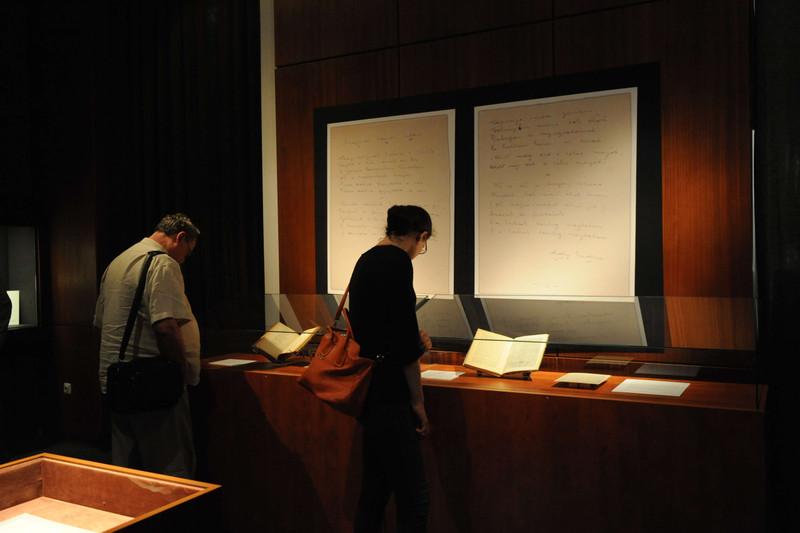 Ady-kézirat kiállítása