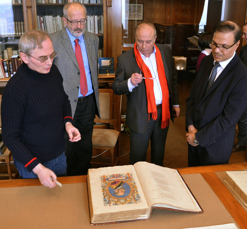 Danku György, Tüske László, Mohammed Abd Alhadi Almatrafi és dr.