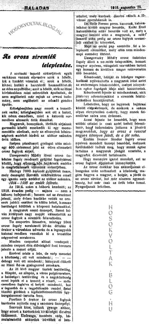 1918-08-25--02 Orosz síremlék