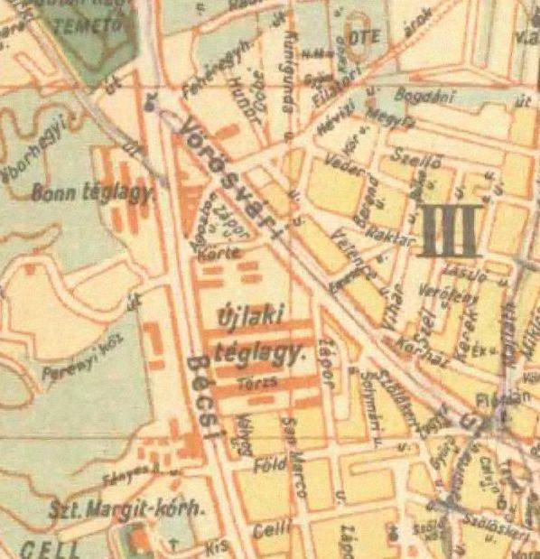 fovarosi.blog.hu: ObudaiKiserletiLakotelep-1947-Terkep