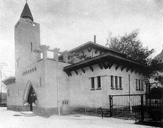 fovarosi.blog.hu: Allatkert-1912-Zsirafhaz