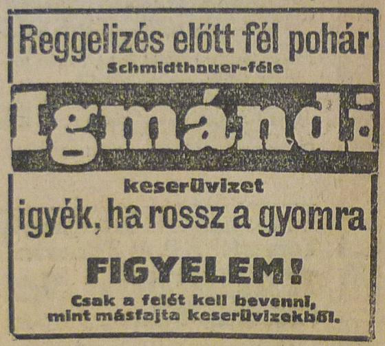 fovarosi.blog.hu: IgmandiKeseruviz-1913Julius-AzEstHirdetes
