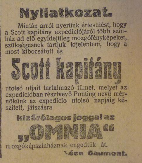 fovarosi.blog.hu: OmniaMozi-1913Marcius-AzEstHirdetes3