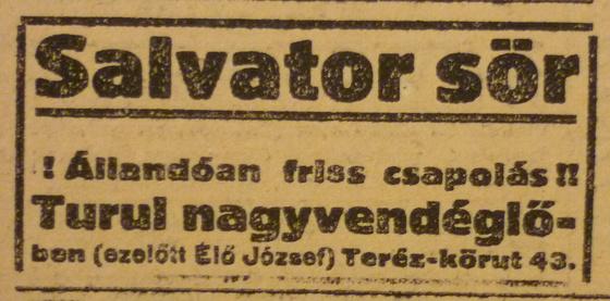 fovarosi.blog.hu: TerezKrt43-TurulNagyvendeglo-1913Februar-AzEstHirdetes