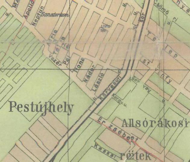 fovarosi.blog.hu: EszakPestiKorhaz-1915-Potlekdulo