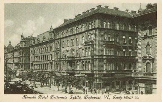 fovarosi.blog.hu: BekeSzallo-1920asEvek-BritanniaSzallo-Egykor.hu