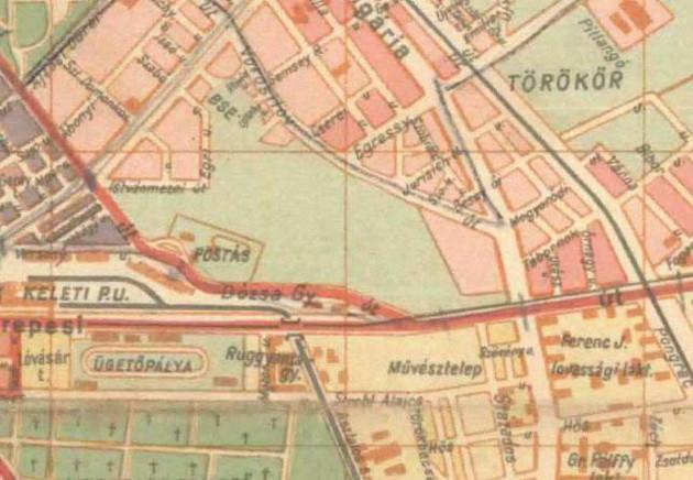 fovarosi.blog.hu: Nepstadion-1947-Terkep