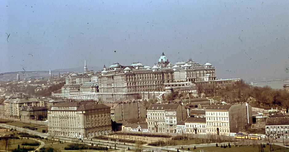 BudaiVar-1940esEvek-fortepan.hu-40882