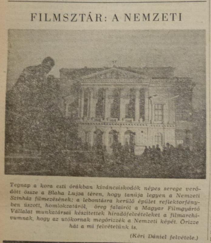 fovarosi.blog.hu: NemzetiSzinhaz-19640304-Nepszabadsag - indafoto.hu