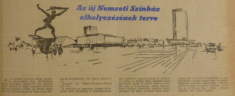 fovarosi.blog.hu: NemzetiSzinhaz-19640828-EstiHirlap - indafoto.hu