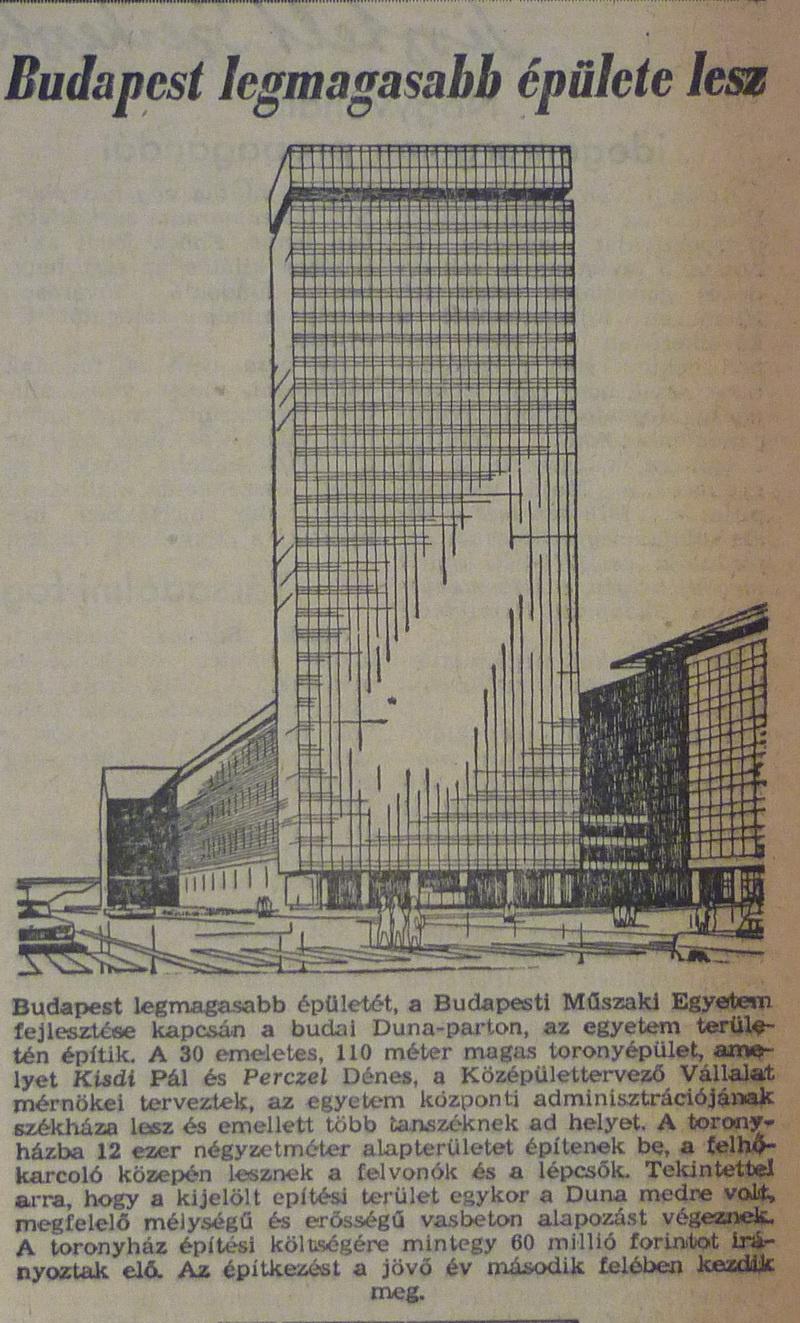 fovarosi.blog.hu: Muegyetem-19650228-MagyarNemzet - indafoto.hu