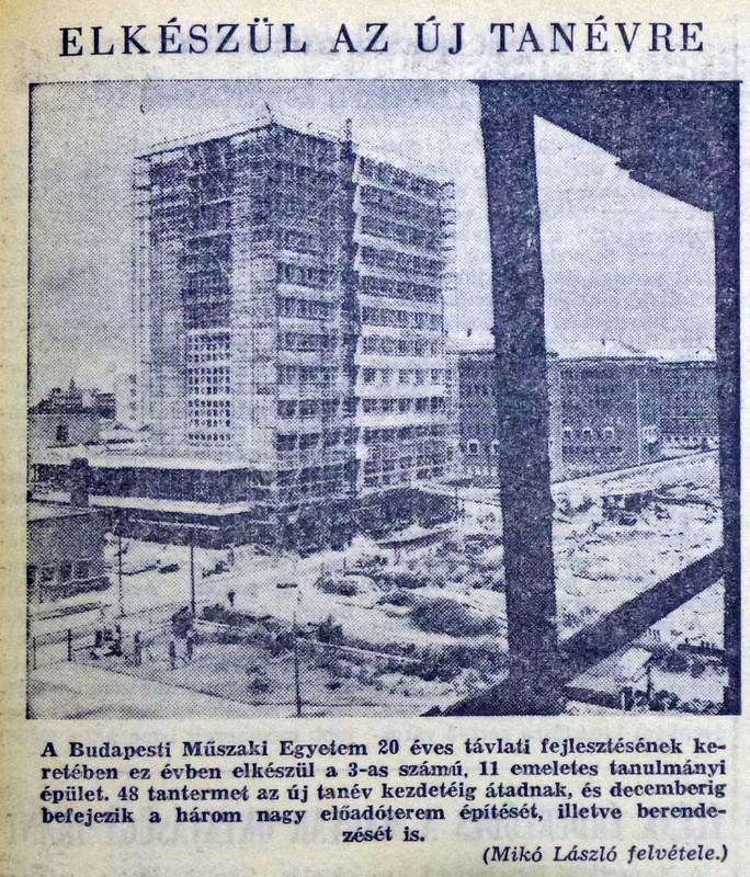 fovarosi.blog.hu: Muegyetem-19650729-Nepszabadsag - indafoto.hu
