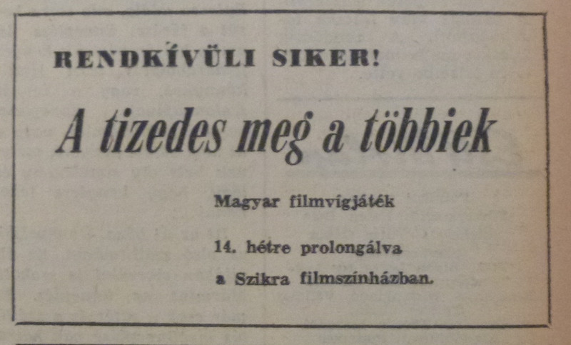 fovarosi.blog.hu: TizedesMegATobbiek-196507-EstiHirlapHirdetes - indafoto.hu