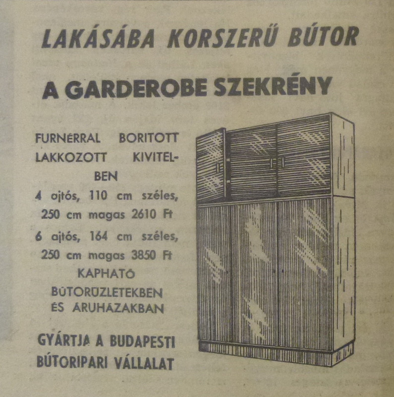 fovarosi.blog.hu: Butor-196604-NepszabadsagHirdetes - indafoto.hu