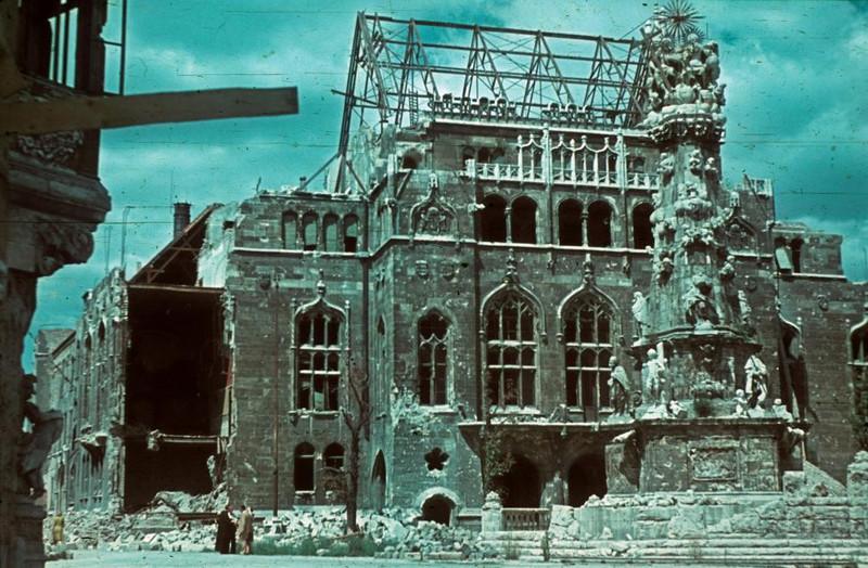 fovarosi.blog.hu: Penzugyminiszterium-1945-fortepan.hu-96590 - indafoto.hu
