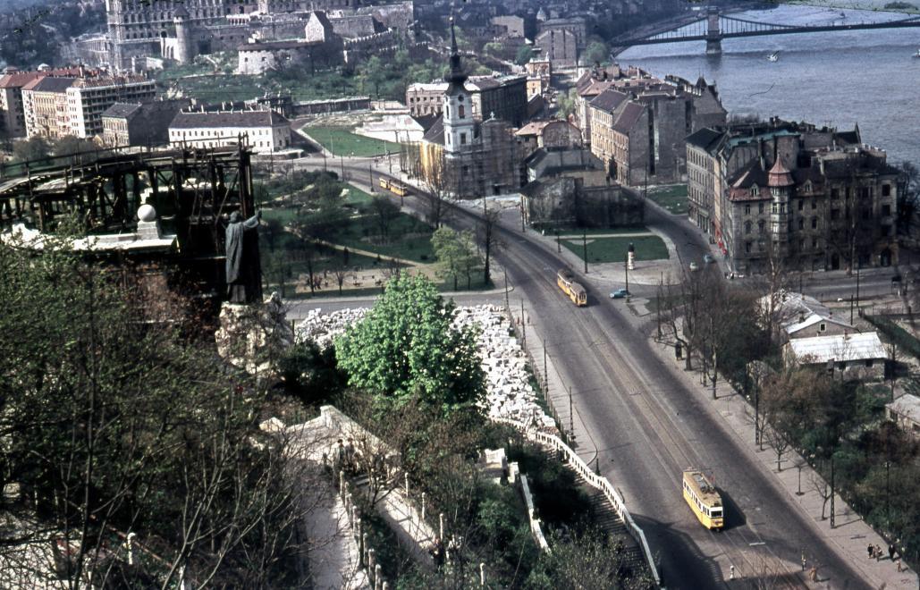 GellertSzobor-1960Korul-fortepan.hu-115003