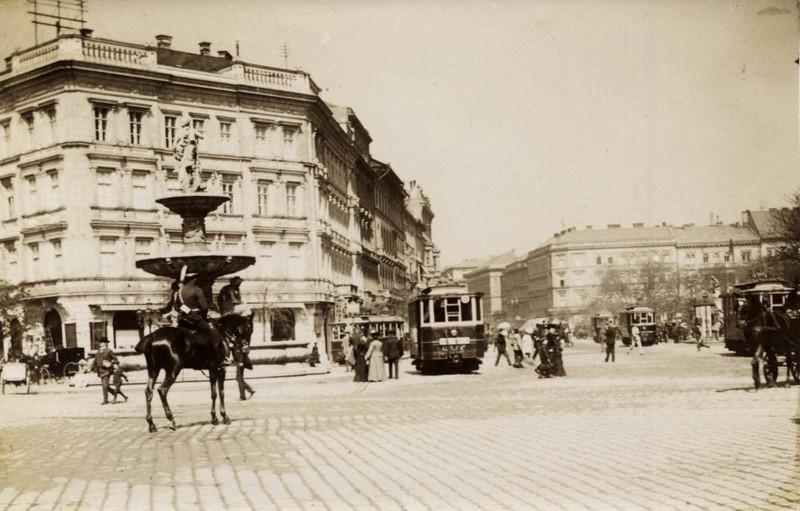 fovarosi.blog.hu: KalvinTer-1907-fortepan.hu-115778 - indafoto.hu