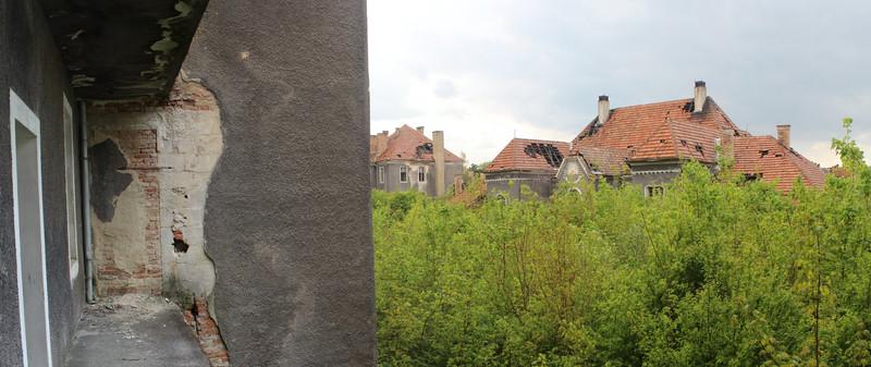 Panoráma befelé nézve az egyik erkélyről