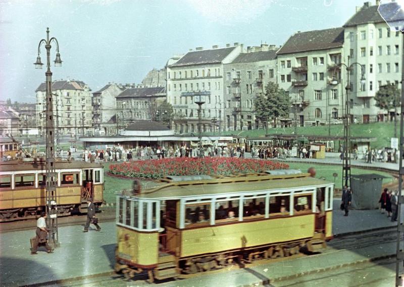 fovarosi.blog.hu: MoszkvaTer-1953Korul-fortepan.hu-129402 - indafoto.hu