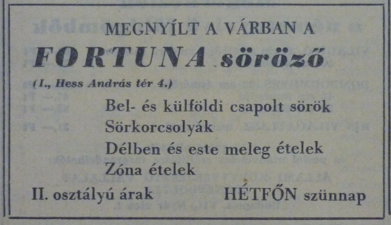 fovarosi.blog.hu: FortunaSorozo-196808-MagyarNemzetHirdetes - indafoto.hu