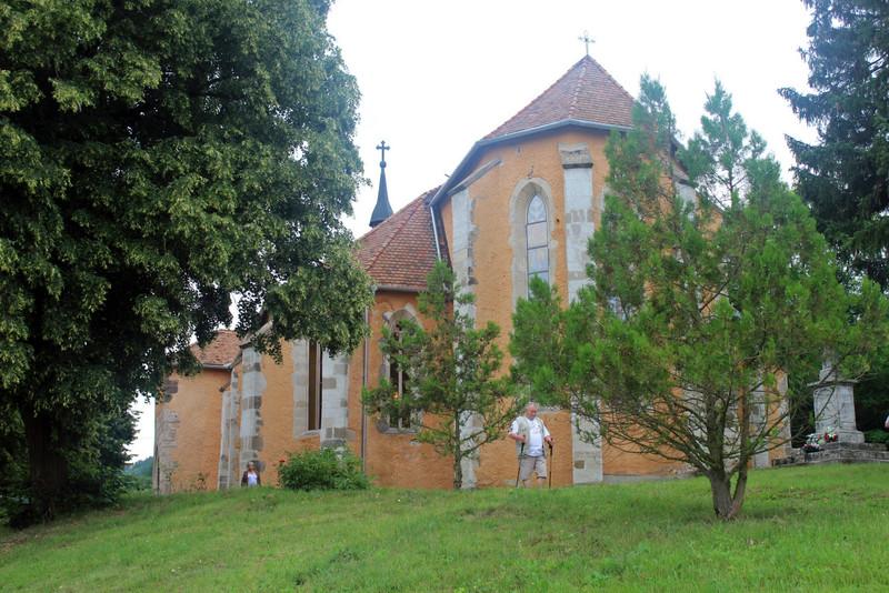Mátraverebély középkori temploma, 2018. Fotó: Papp Géza, kektura.blog.hu