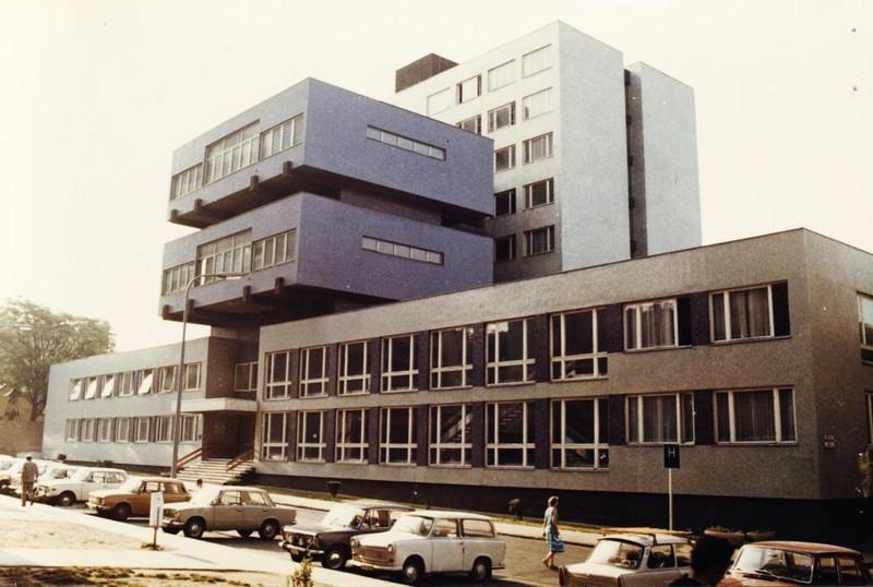 fovarosi.blog.hu: SOTE-Klinikak-1985Korul-TomoUtca25-29-fortepan.hu-74585 - indafoto.hu