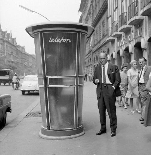 fovarosi.blog.hu: Telefonfulke-MadachSzinhaz-1960asEvek-Fortepan.hu-20127 - indafoto.hu